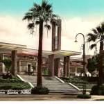 villa garibaldi - ingresso - anni 50