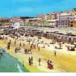 la spiaggia - anni 70