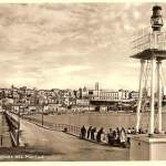 panorama dal pontile  - anni 50