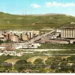 panorama villaggio aldisio - anni 60