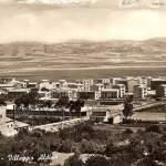 panorama villaggio aldisio -  anni 50