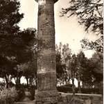 parco delle rimembranze - colonna dorica - anni 50