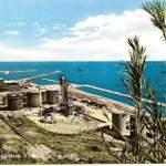 raffineria agip e porto - anni 60
