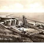 raffinerie agip e porto - anni 50