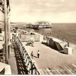 spiaggia e lido la conchiglia - anni 50